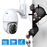 Outdoor IP Camera 1080P WIFI CCTV Intelligent Auto Tracking Audio Recording P2P