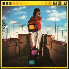 TIM MOORE 'High Contrast' Never played 1979 1st edition White Label Promo LP