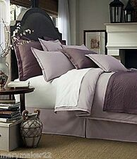 Nip Noble Excellence Villa Capri 3pc King Duvet Cover Set Amethyst 100% Cotton