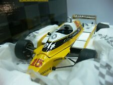 WOW EXTREMELY RARE Renault 1980 RE20 Turbo Jabouille France 1:18 Exoto