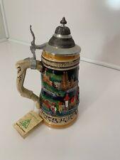Zoller and Born - Limited Edition - Vintage Lidded Beer Bier Stien Stube - NWOB