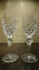 *VINTAGE* Waterford Crystal POWERSCOURT (1968-) Set 2 Sherry Wine Glasses 6 3/8""