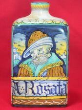 Italian Saca Castelli  Vintage Ceramic Signed Tea Caddy