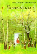 Buch Astrid Lindgren SCHWEDISCH - Sunnanäng, NEU