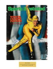 ERIC HEIDEN AUTOGRAPHED SIGNED 1980 SPORTS ILLUSTRATED COVER USA OLYMPIC GOLD