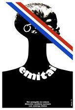 Movie Poster 4 film Emitai.French colony.Africa slave.Room home art decor design