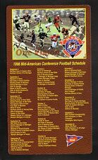 Mid-American Conference--1998 Football Magnet Schedule