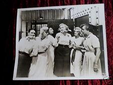 PUBLICITY PHOTOGRAPH - 8X10 - JAN STERLING - CLEO MOORE- WOMEN'S PRISON