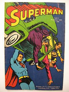 Superman Heft 3, November 1966, Ehapa-Verlag, Zustand 2-3