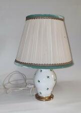 alte Herend Porzellan Tischlampe im alten Original Zustand