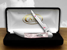 CASE XX Pink Pearl Girl Toothpick Pocket Knives Knife