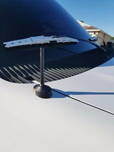 "4 inch "" Short Black Antenna for FORD E150/250/350/450/550 ECONOLINE 1992-2021"