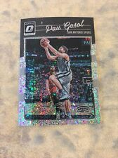 Pau Gasol 2016-17 Donruss Optic WHITE SPARKLE SSP Spurs