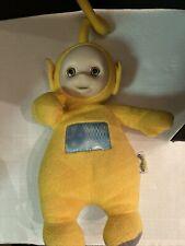 Teletubbies Laa Laa 2002 Plush SOUND Tummy Geoffrey Toys R Us Rare WORK
