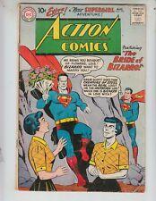 Action 255 VG+ (4.5) 8/59 The Bride of Bizarro! 4th Supergirl! 1st Bizarro Lois!
