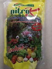 NITRO K CONCIME MINERALE NK 13/46 RICCO DI AZOTO PER FIORI FRUTTA ORTAGGI KG.2