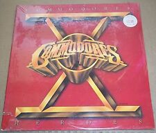 COMMODORES - Heroes - Motown M8-939M1 SEALED