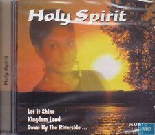 Holy Spirit + CD + cecitermine et chrétienne musique + Superbe album avec 18 chansons +
