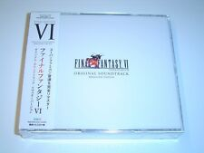 FINAL FANTASY VI 6 ORIGINAL REMASTER VERSION SOUNDTRACK MUSIC JAPAN IMPORT *NEW*