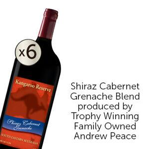 Andrew Peace Kangaroo Reserve Shiraz Cabernet Grenache 1.5L 6pack