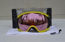 2017 NIB MENS OAKLEY CANOPY SNOW GOGGLES $180 laser iron/prizm HI pink iridium