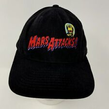 Vtg 90s Mars Attacks Warner Bros Studio Store Movie Snapback Hat Cap 1996 Usa