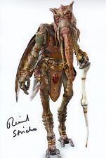 Richard Stride signed autógrafo 20x30cm Star Wars en persona Autograph Poggle coa