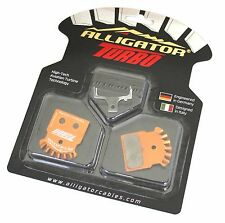 New Alligator Turbo Bike MTB Disc Brake Pads SHIMANO XTR/Deore XT/SLX/Alfine