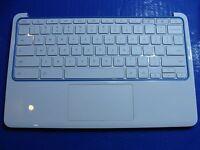 "HP CB2 Chromebook 11-SMB0 11.6"" Palmrest Keyboard TouchPad Speakers 360C1TATN00"