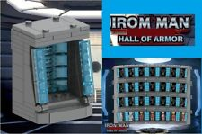 Iron Man Hall Of Armor Building Toys War Machine Bricks Baby News Minifigure Toy