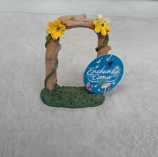 Rustic Floral Garden Arch Fairy Elf Gnome Garden Enchanted Corner New With Tags