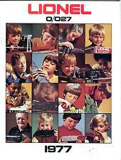 Lionel Trains 0/027 1977 Catalog EX 071016jhe2