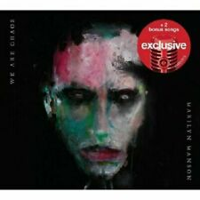 We Are Chaos by Marilyn Manson Target Deluxe Edition CD 2020 Lomavista