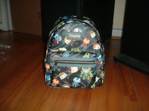 LOUNGEFLY MARVEL AVENGERS CHIBI MINI BACKPACK~ WITH TAGS~ BRAND NEW~