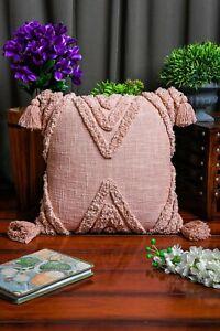Moroccan Cushion Tassel Cushion Boho Hand Tufted Decorative Pillow 50*50cm