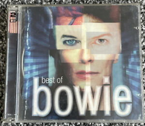 David Bowie Best Of Bowie 2 Disc CD Album -VGC - Free UK PP