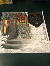 Game Of Thrones Adult Colouring Book Unwanted Gift !! New