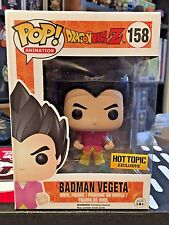 FUNKO POP! DRAGON BALL Z BADMAN VEGETA #158 HOT TOPIC EXCLUSIVE DBZ VINYL NIB