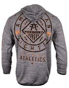 AMERICAN FIGHTER Men's Hoodie L/S BRICHWOOD Premium Athletic