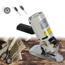 Ac 110 V200W Electric Cloth Cutter 90mm Blade Fabric Leather Cutting Machine Us