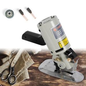 90MM Cloth Cutter Fabric Cutting Machine Shear Rotary Electric Scissors / 220V