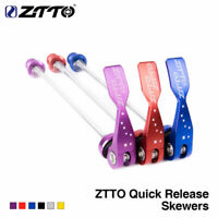 ZTTO MTB Road Bike Skewer Ultralight Quick Release Skewer 100 135 Reliable Axle