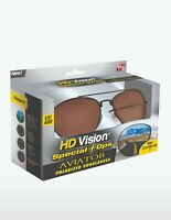HD Vision Special Ops Aviator Polarized UV400 Protection Sunglasses - Seen on TV