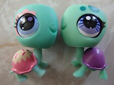 Littlest Pet Shop RARE Turtle Sweetest #3301 3024 Sprinkles Candy Swirl LOT