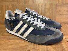 RARE🔥 Adidas Dragon Navy Blue Retro Trainers Sz 10.5 Men's Sneakers G50919 Shoe