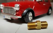 Austin Mini Morris Minor A Serie Motor Smiths Öldruckanzeige Messing Adapter