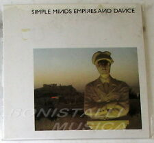 SIMPLE MINDS - EMPIRES AND DANCE - CD Vinyl Replica Cardboard - Sealed