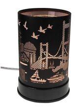 Electric Oil Warmer Wax Melts Bridge Boats Birds City Design Touch Control
