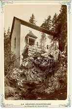 France, La Grande Chartreuse, La Chapelle de Saint Bruno Vintage albumen print.