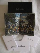 b188d06da Paul Smith Credit Card Wallet Rapha Cycling with Multi Stripe Mini Print NIB